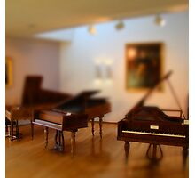 tiny pianos Photographic Print