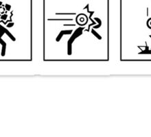 Portal stickers Sticker