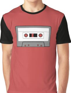 Cassette Tape - Vintage Retro Audio Graphic T-Shirt