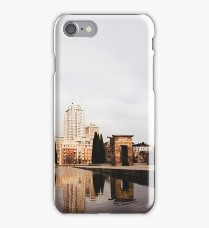 Templo de Debod iPhone Case/Skin