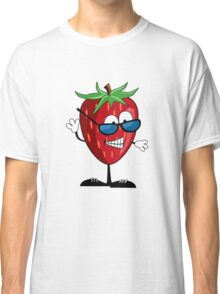 Cool Strawberry Character Classic T-Shirt