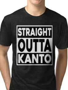 Straight Outta Kanto Tri-blend T-Shirt