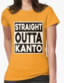 Straight Outta Kanto Womens Fitted T-Shirt