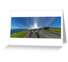 Donegal Bay - Panorama Greeting Card