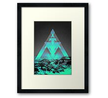 Neither Real Nor Imaginary II Framed Print