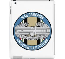 Combat Action OIF iPad Case/Skin
