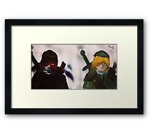 A Link to the Link Framed Print
