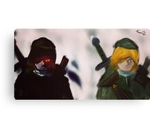 A Link to the Link Canvas Print