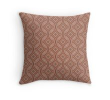 Rusted Circle Throw Pillow