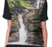 Deckertown Falls - Montour Falls, New york Chiffon Top