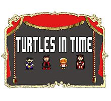 NCW Turtles in Time Official Merchandise Photographic Print
