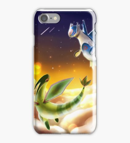 Flygon and Latios iPhone Case/Skin