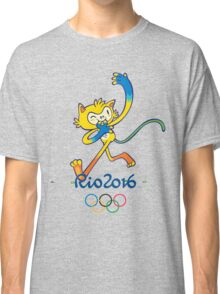 Rio 2016 mascot olympiade brasil Classic T-Shirt