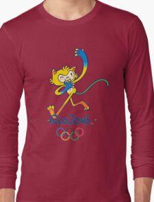 Rio 2016 mascot olympiade brasil Long Sleeve T-Shirt