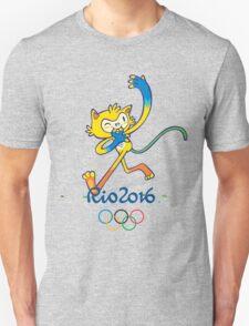 Rio 2016 mascot olympiade brasil Unisex T-Shirt