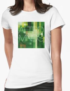ALTERED MINDS PIXEL BLOCK Womens Fitted T-Shirt