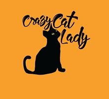 Crazy Cat Lady Womens Fitted T-Shirt