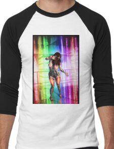 Dancing Robot 001 Men's Baseball ¾ T-Shirt