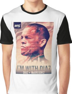 Ufc 202 - Im With Nate Diaz v Conor MCGregor Graphic T-Shirt