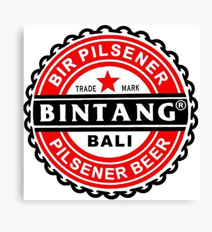 Bali Bintang Canvas Print