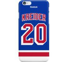 New York Rangers Chris Kreider Jersey Back Phone Case iPhone Case/Skin