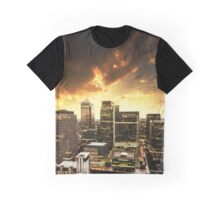 canary wharf skyline Graphic T-Shirt
