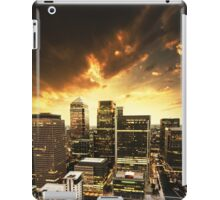 canary wharf skyline iPad Case/Skin