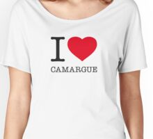 I ♥ CAMARGUE Women's Relaxed Fit T-Shirt