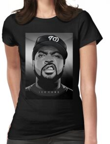 ice cube Womens Fitted T-Shirt