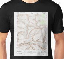 USGS TOPO Map Arizona AZ Fishtail Mesa 20120515 TM Unisex T-Shirt