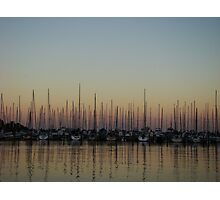 Sailboat Convention Photographic Print