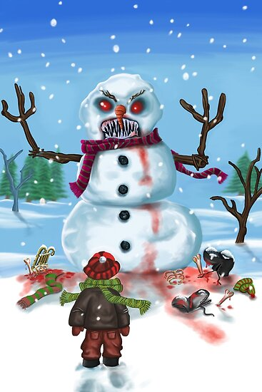 Little Timothys LAST Snowman by mdkgraphics