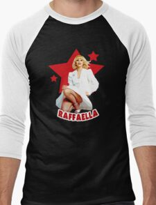 Raffaella Carra Italian Diva Amazing design! Men's Baseball ¾ T-Shirt