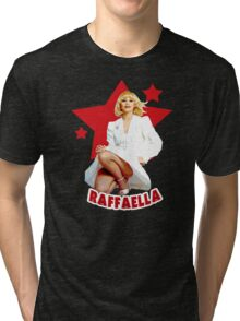 Raffaella Carra Italian Diva Amazing design! Tri-blend T-Shirt