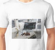 Dog by the water Unisex T-Shirt