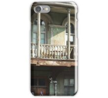 Old City, old house iPhone Case/Skin