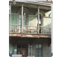 Old City, old house iPad Case/Skin