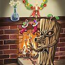 The Yule Logs Revenge by mdkgraphics