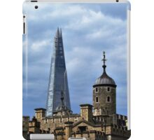 The White Tower and The Shard, London iPad Case/Skin