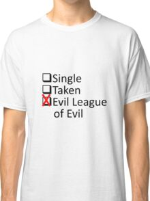Evil League Of Evil Member Classic T-Shirt