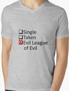 Evil League Of Evil Member Mens V-Neck T-Shirt