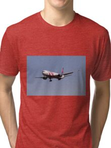 Delta Airlines Boeing 767 Tri-blend T-Shirt