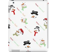 Christmas Xmas Design iPad Case/Skin