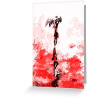 Out of Hell Greeting Card