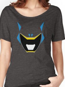 Dino Charge Aqua Power Ranger / Kyoryu Cyan Women's Relaxed Fit T-Shirt