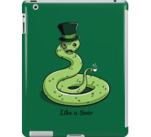Sssophisticated iPad Case/Skin