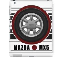 Mazda MX5 Daisy Wheel iPad Case/Skin
