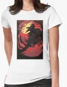 EILEEN THE CROW  Womens Fitted T-Shirt
