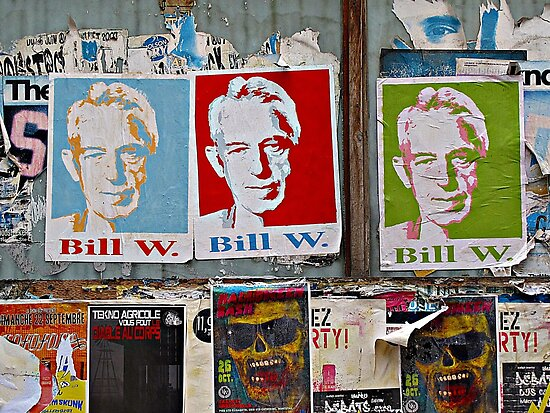A Bill Among Playbills © by Ethna Gillespie