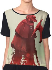 FATHER GASCOIGNE Chiffon Top